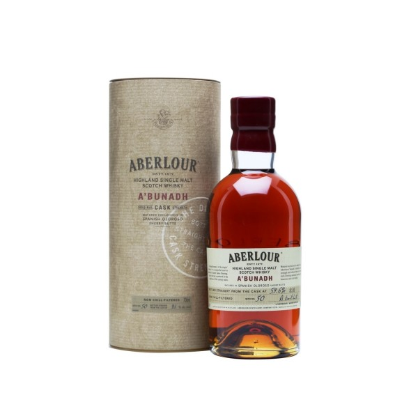 Aberlour A'Bunadh Single Malt Scotch Whisky 700ml