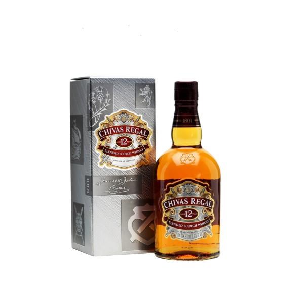 Chivas Regal 12yr Old Scotch Whisky 1ltr
