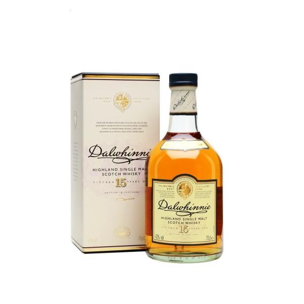Dalwhinnie 15yr Old Single Highland Malt Scotch Whisky 700ml