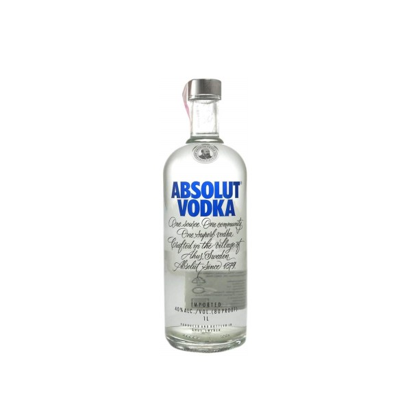 Absolut Blue Vodka 1ltr