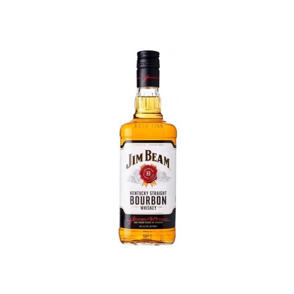 Jim Beam White Bourbon Whiskey 700ml