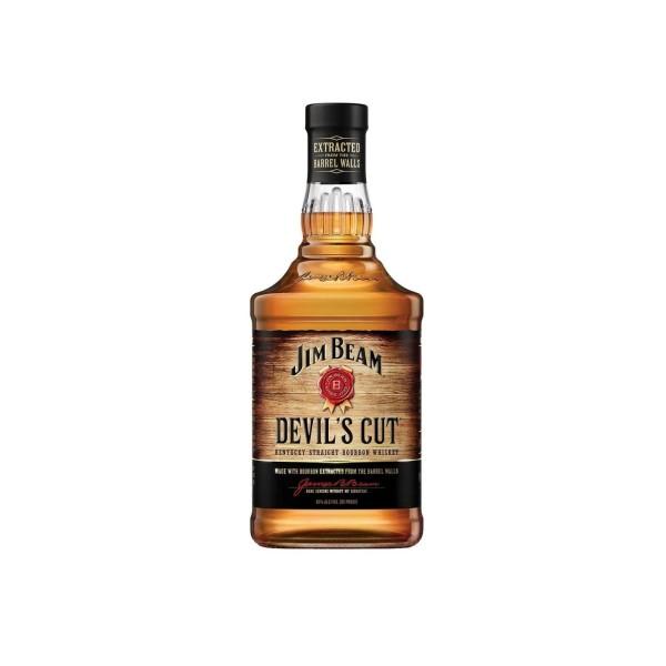 Jim Beam Devil Cut Bourbon Whiskey 1ltr
