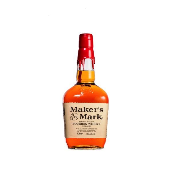 Maker's Mark Bourbon Whiskey 1ltr
