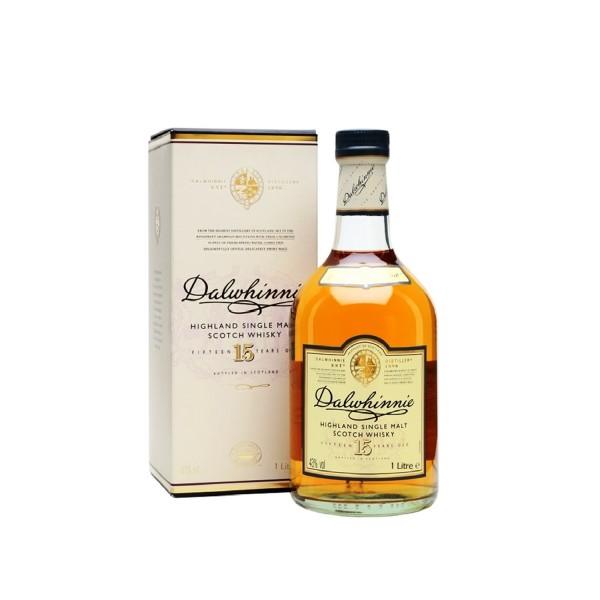 Dalwhinnie 15yr Old Single Highland Malt Scotch Whisky 1Ltr