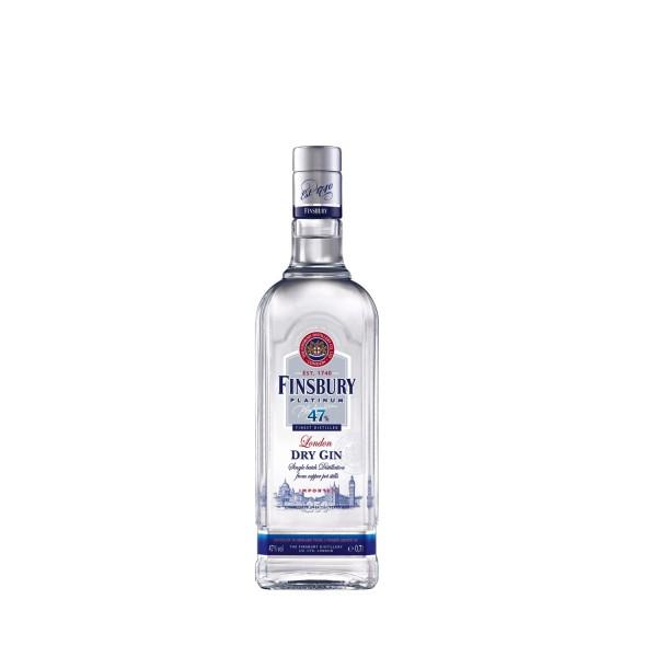 Finsbury Platinum Dry Gin 47 700ml
