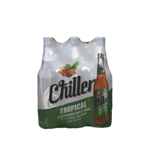 Chiller Tropical Beer 330ml 6 Pack