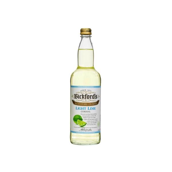 Bickford's Light Lime Cordial 750ml