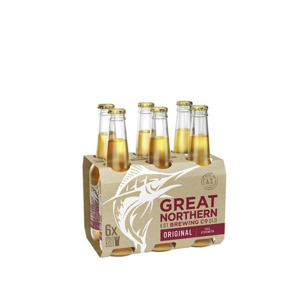 Great Northern Brewing Co. Original Bottle 6 Pack 330ml