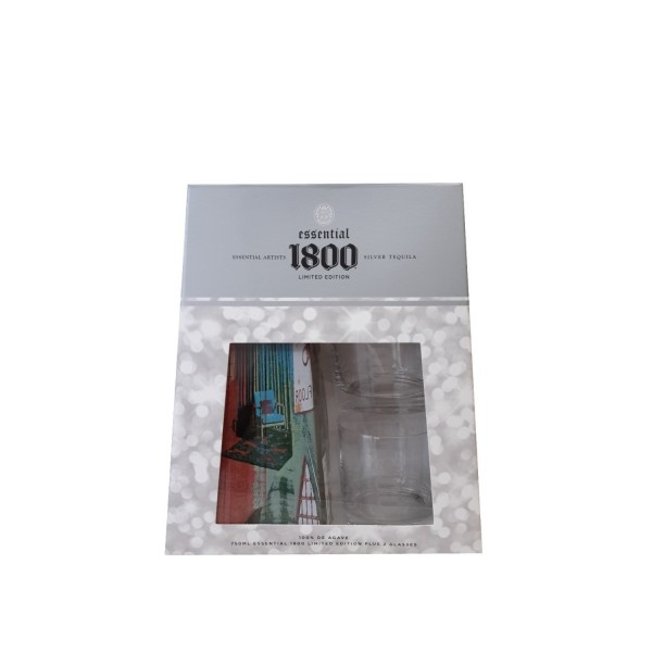 1800 Essential Artists Silver Tequila 700ml