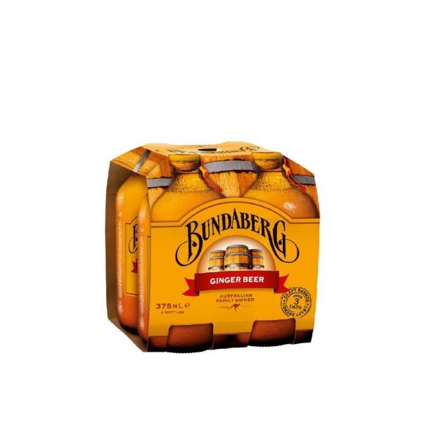 Bundaberg Ginger Beer 4 Pack 375ml