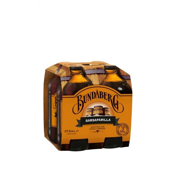Bundaberg Sarsaparilla 4 Pack 375ml