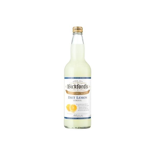 Bickford's Diet Lemon Cordial 750ml