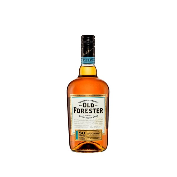 Old Forester 80 Proof Bourbon Whisky 700ml