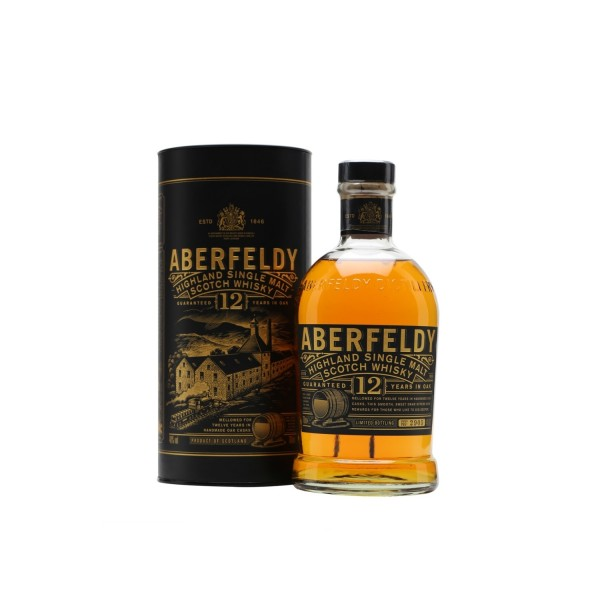 Aberfeldy 12 Year Old Single Malt Scotch Whiskey 1000ml