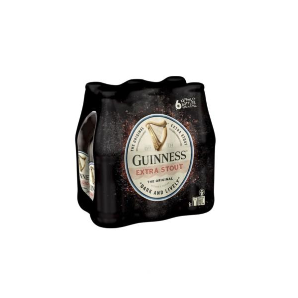 Guinness Original Extra Stout Bottle (6pack) 375ml