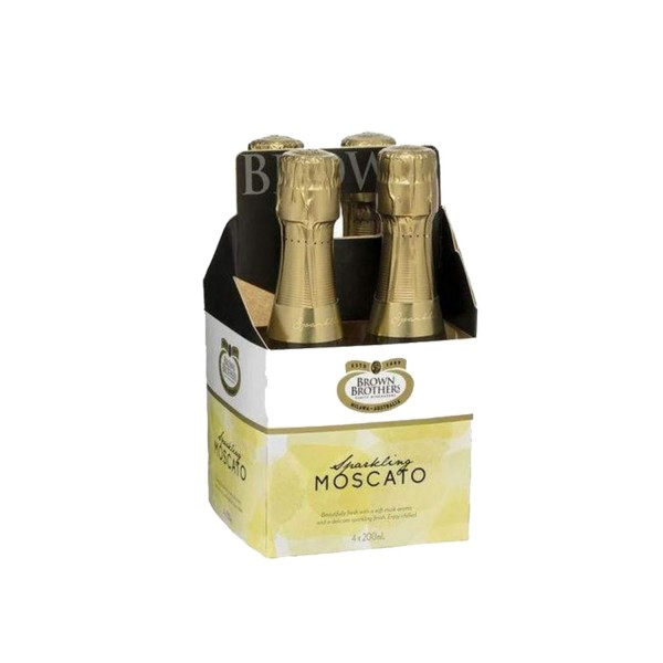 Brown Brothers Sparkling Moscato (4Pack) 200ml