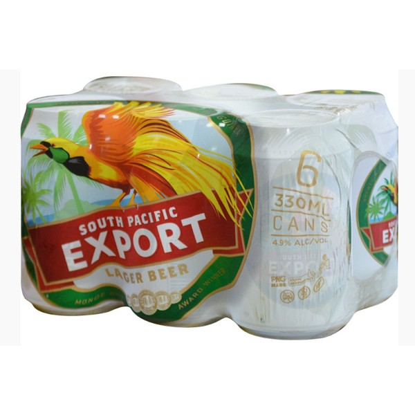 SP Export Lager White Can 24 x 330ml